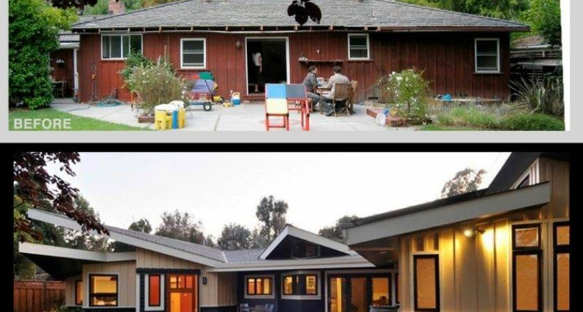 Ranch Remodel Before After Photos Web Value