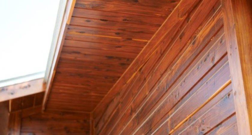 Real Wood Siding Rustic Exterior Sikkens Proluxe