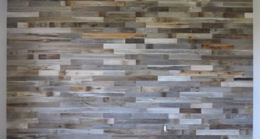 Reclaimed Wood Wall Paneling Diy Asst Inch Boards