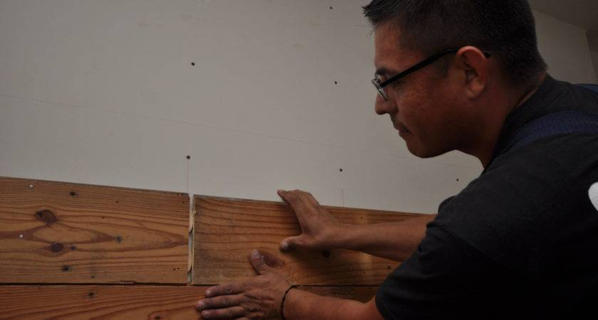 Reclaimed Wood Walls Tips Installing Matt Risinger