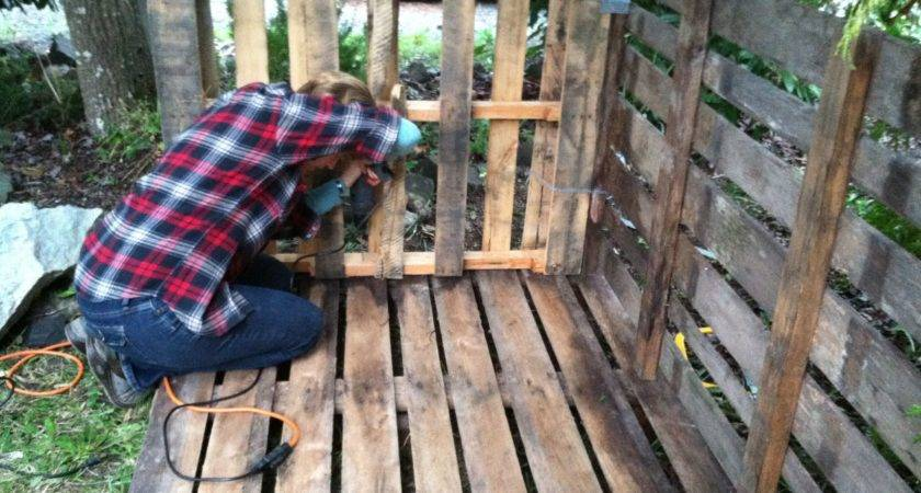 Recycled Pallet Wood Shed Metaphysicalite