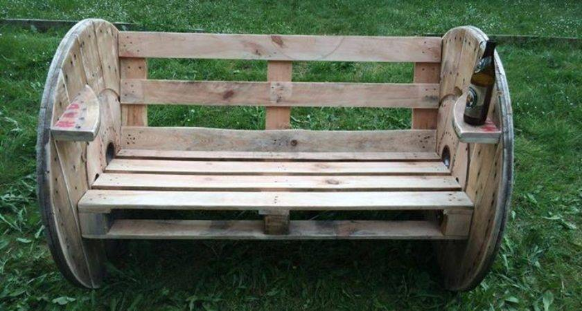 Recycled Pallets Wood Seating Idea Pallet Ideas