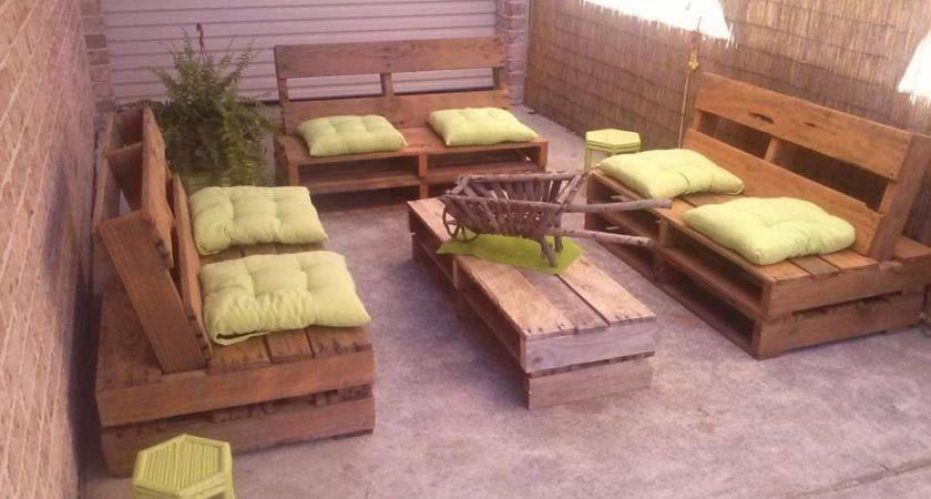 Recycled Wood Pallet Decoration Functionality Home