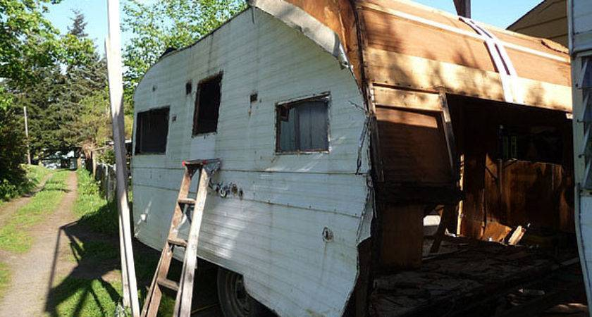 Recycling Old Trailers