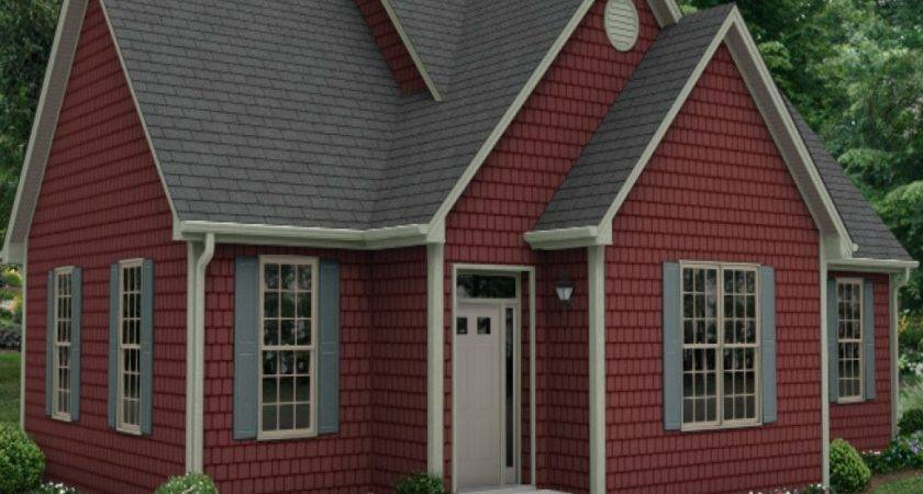 Red Brick Siding Color Combinations House Style