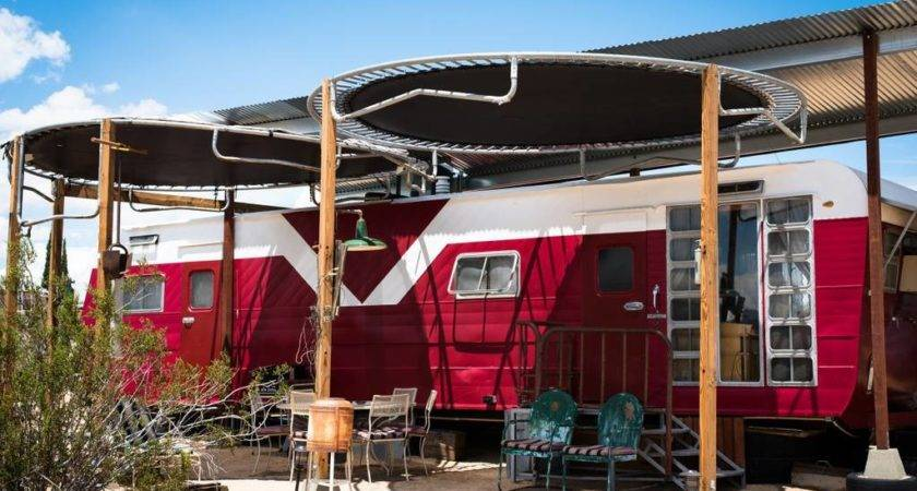 Red Rocket Buzzards Roost Joshua Tree Campers