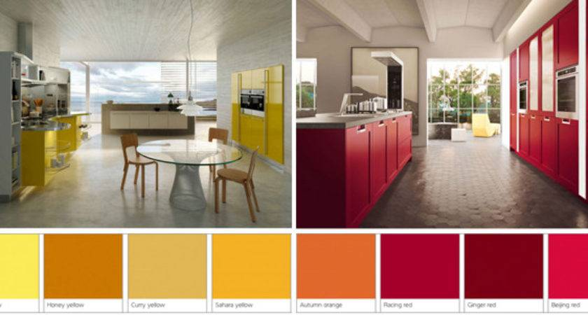 Red Yellow Spices Add Color Your Kitchen
