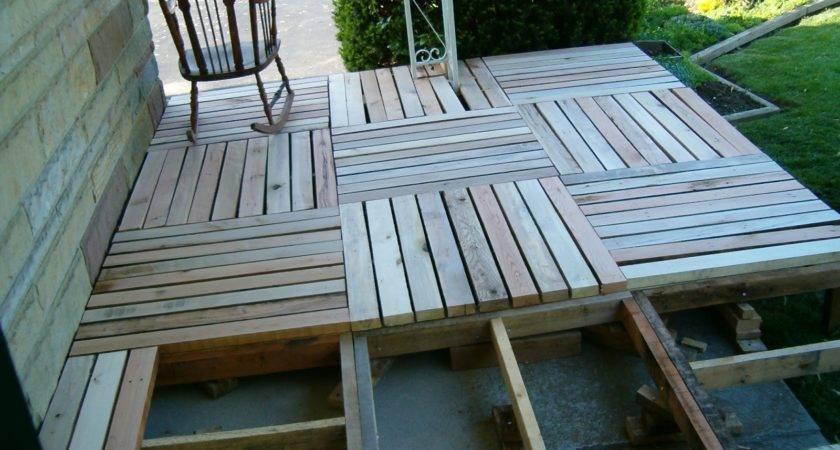 Reduce Reuse Renewed Redneck Pallet Deck Summers Later