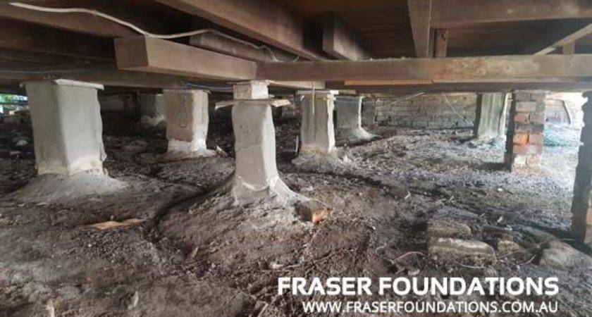 Relevelling House Pier Replacement Newcastle Fraser