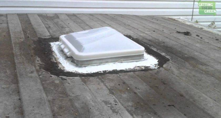 Remove Replacing Trailer Roof Vent Camper