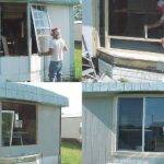 Replace Leaky Rotten Bay Window Mobile Home Repair