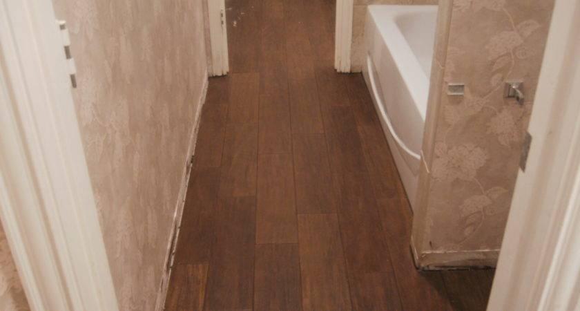 Replace Linoleum Floor Bathroom Laminate