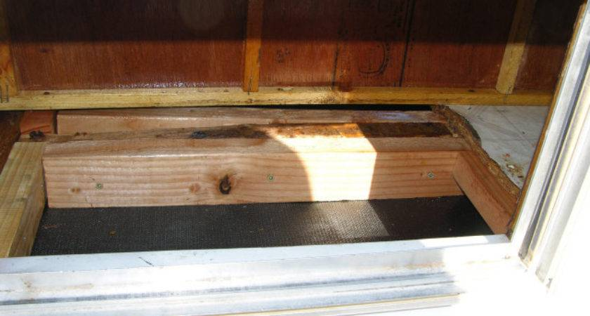 Replace Rotted Wood Flooring Travel Trailer