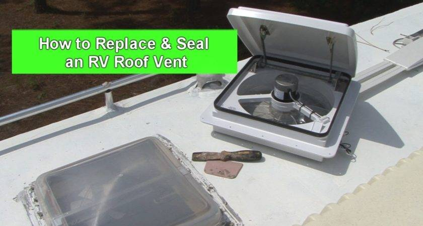 Replace Seal Roof Vent Youtube