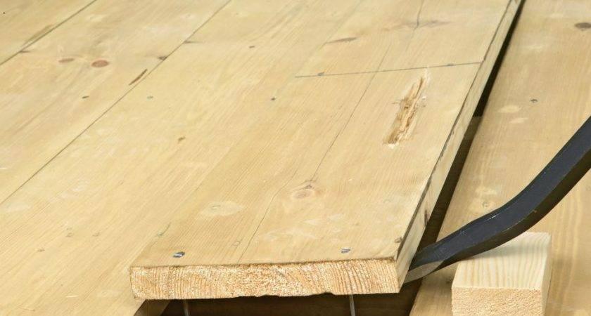 Replace Square Edged Boards Hardwood Flooring Diy