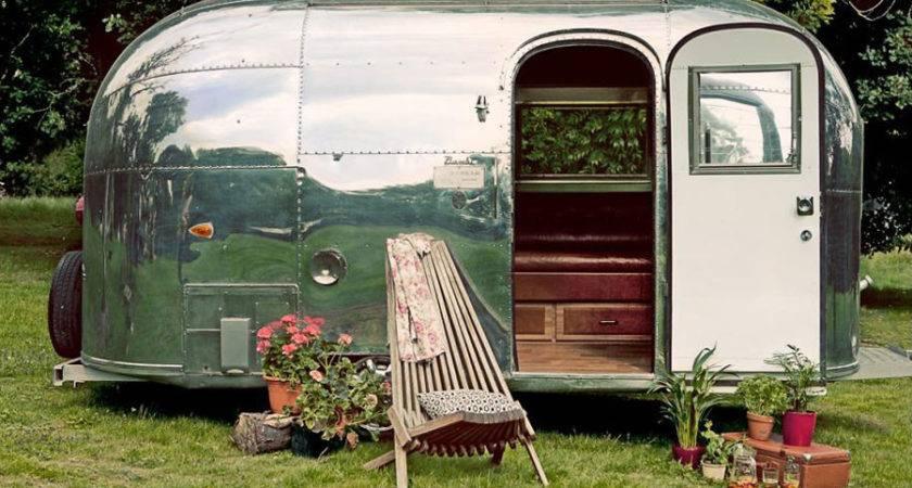 Restored Airstream Bambi Tiny House Swoon