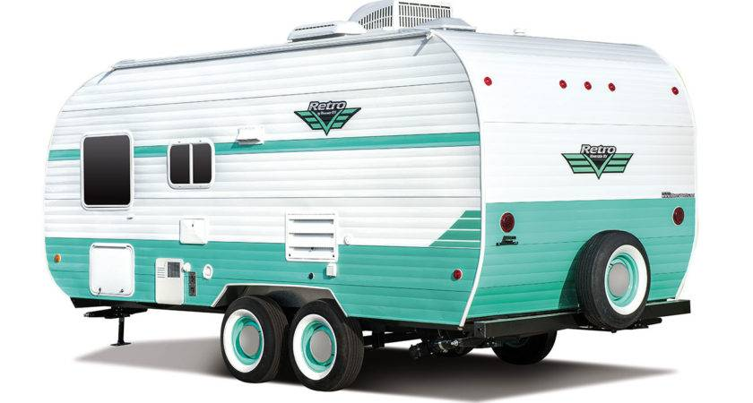Retro Travel Trailer Floorplans Riverside