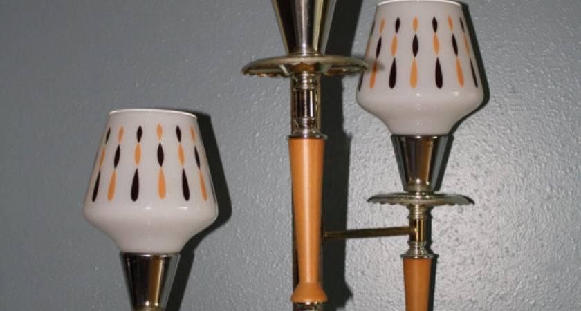 Retro Vintage Floor Ceiling Tension Pole Lamp Way