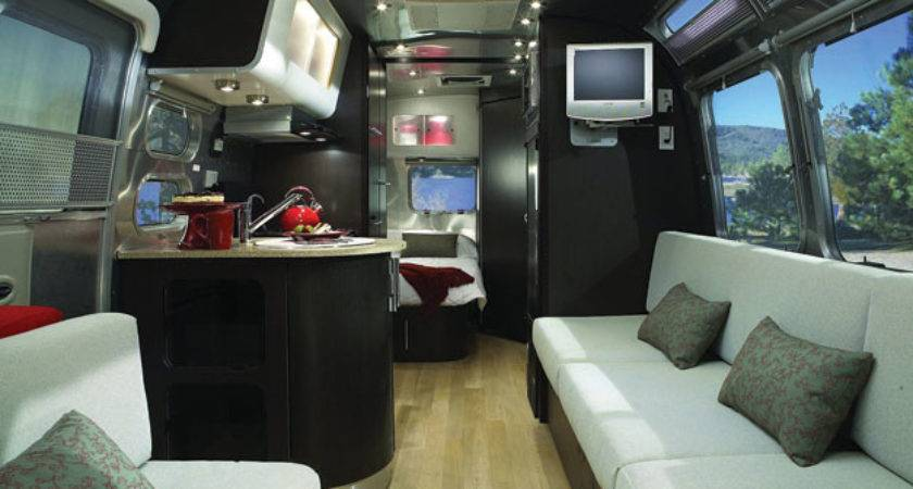 Review Airstream Luxurious Travel Trailer Fine Magazine