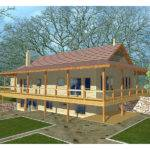 Ridley Woods Rustic Home Plan House Plans More