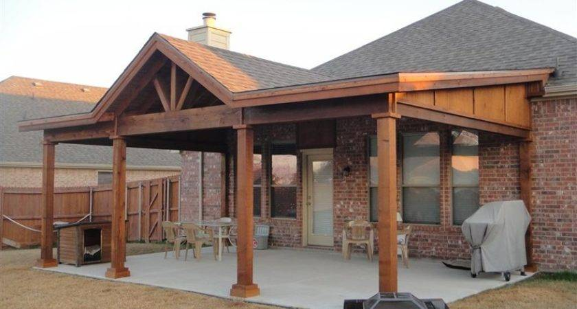 Roof Rafter Patio Cover Plan Pin Pinterest