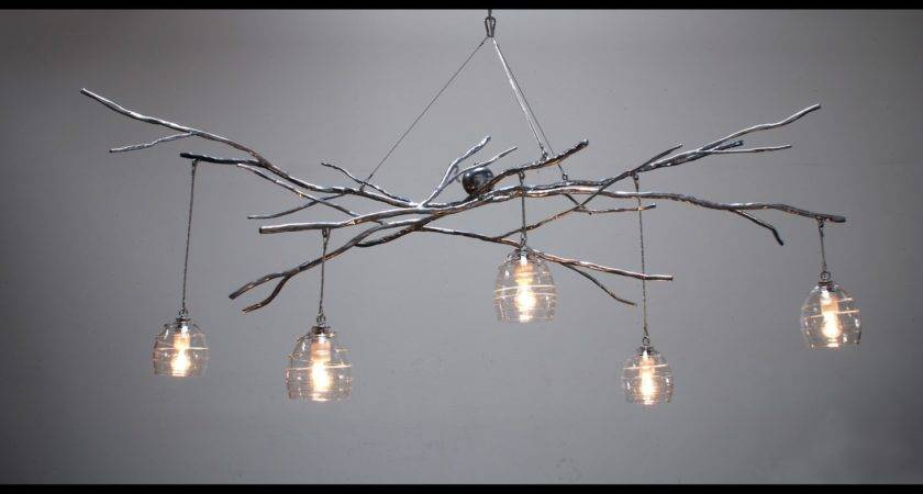 Rooms Woodland Chandelier Sculptural Lighting