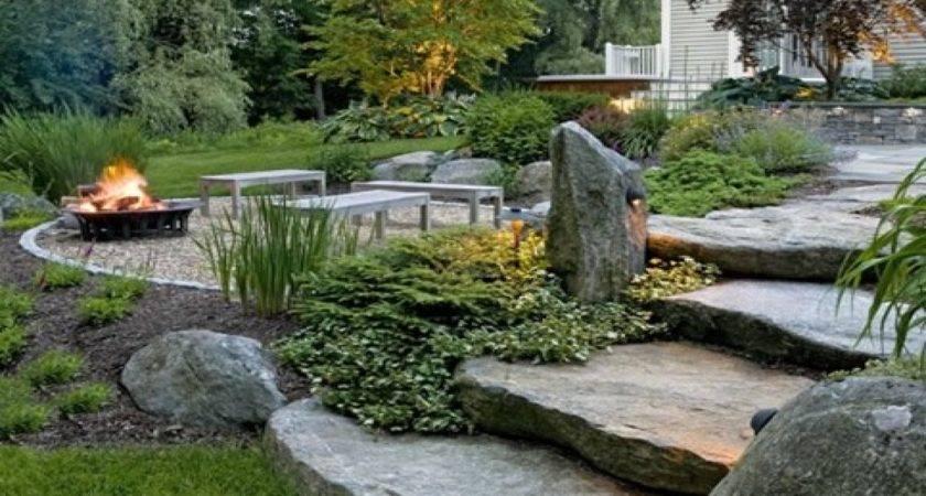Rustic Backyard Ideas Country Garden Landscaping