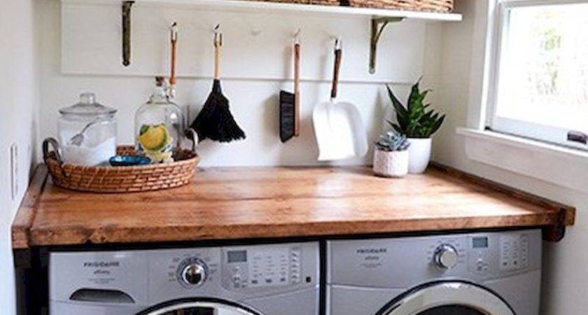 Rustic Farmhouse Laundry Room Decor Ideas Livinking