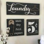Rustic Farmhouse Laundry Room Decor Ideas Roomodeling