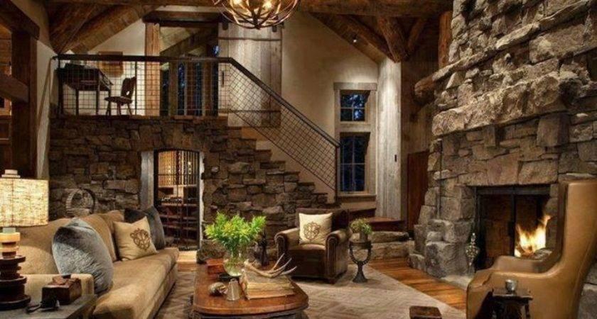Rustic Home Interior Design Inspiration Decorating