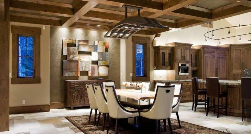 Rustic Home Touches Bring Luxury Nature Together