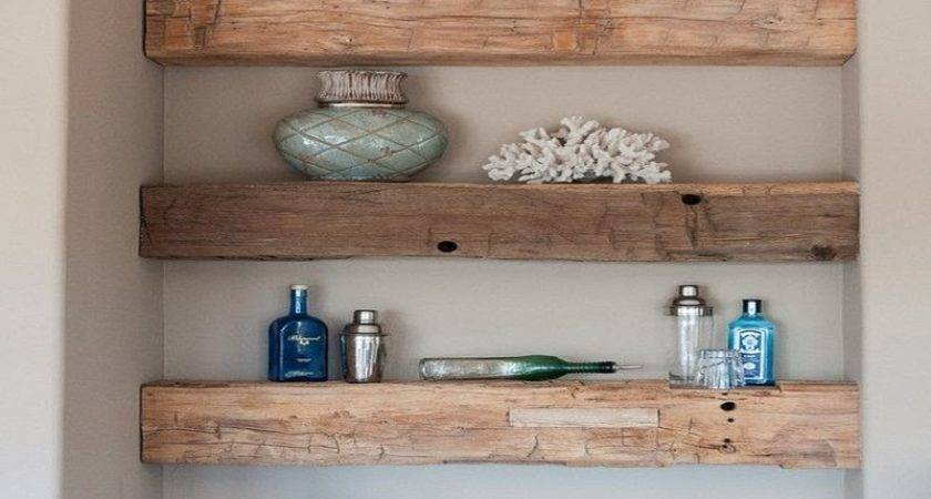 Rustic Kitchen Shelving Ideas White Open