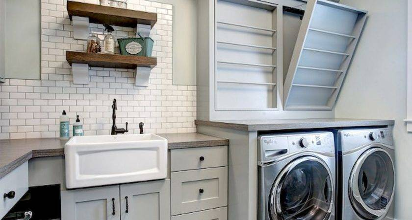 Rustic Laundry Room Decor Ideas Crowdecor