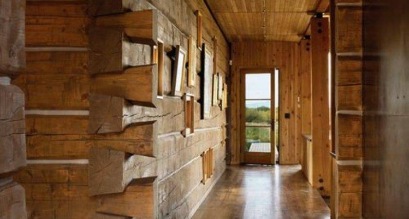 Rustic Log Cabin Interior Houzz