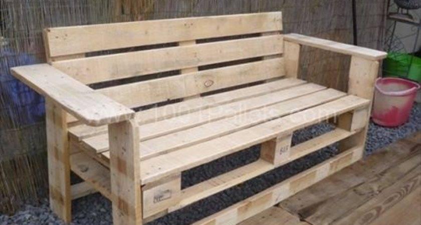 Rustic Planked Pallet Wooden Furniture Pallets Designs