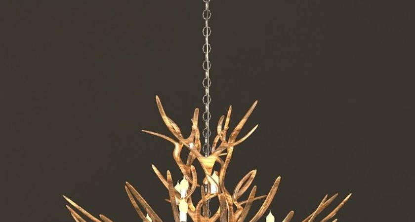 Rustic Tree Branch Chandeliers Model Max Files