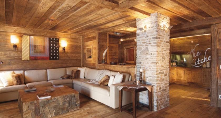 Rustic Wood Interiors Charming Distressed Decor