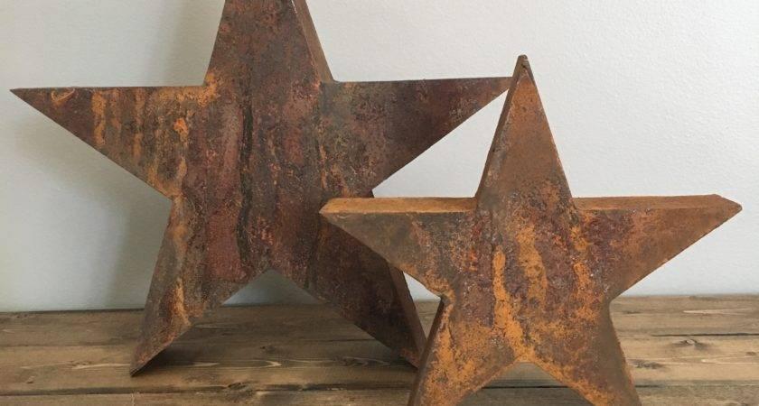 Rusty Star Rustic Home Decor
