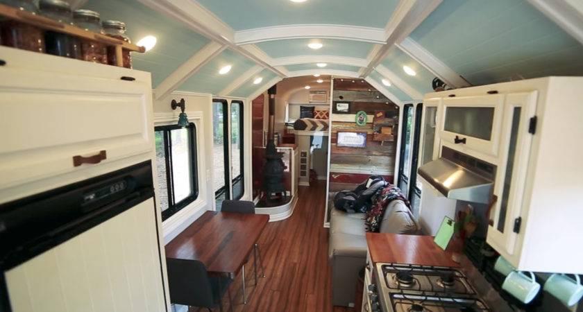 School Bus Home Conversion Bing