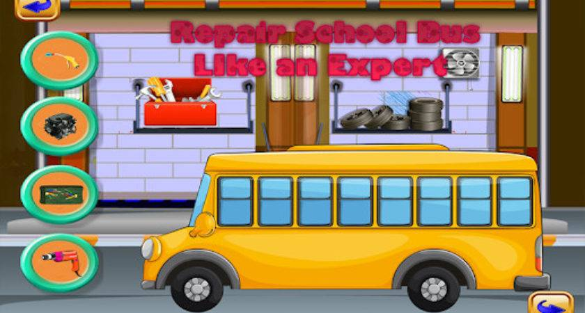 School Bus Wash Repair Android Apps Google Play