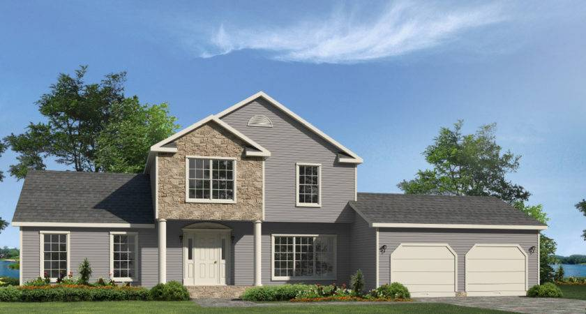 Schuykill Two Story Style Modular Homes
