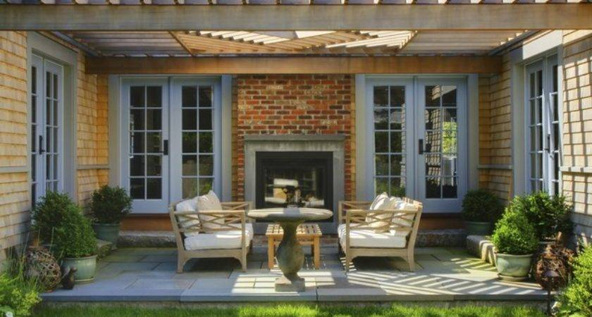 Sconset Residence Transitional Patio