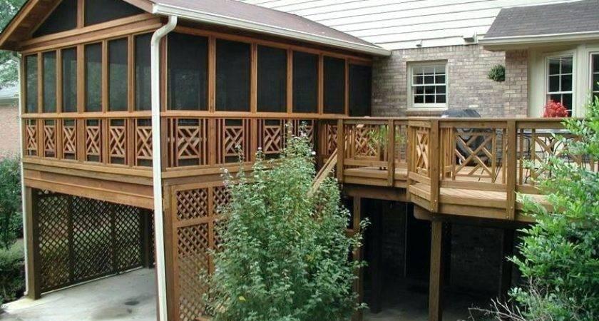 Screen House Deck
