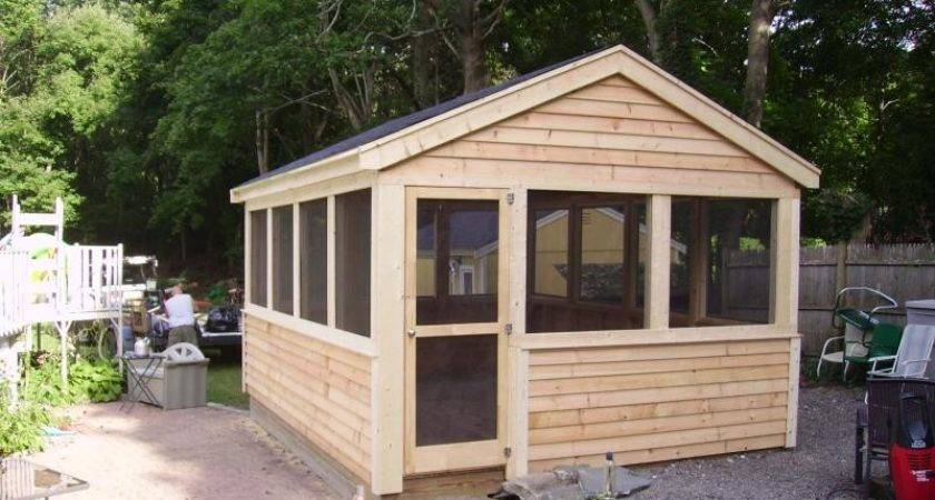 Screen House Plans Ideas Home Building