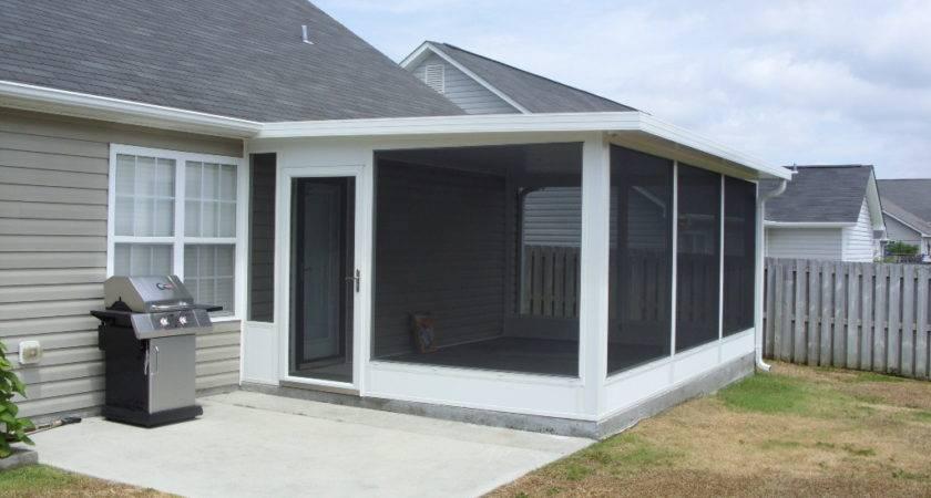 Screen Porch Building Plans Interior Exterior Homie