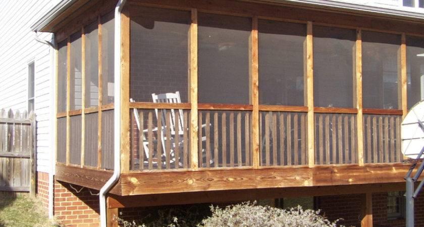 Screen Porch Construction Plans Home Design