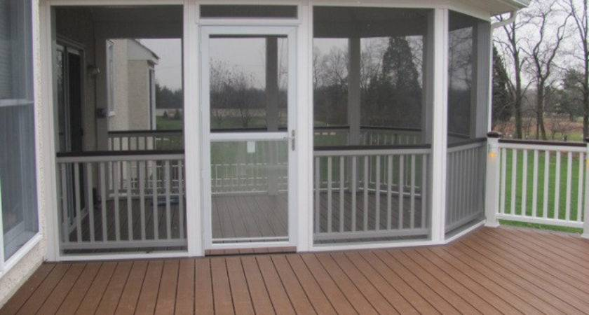 Screen Porch Plans Home Mansion