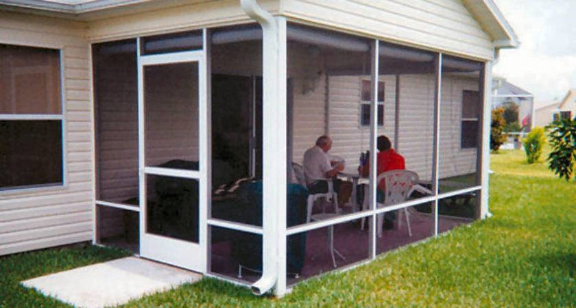 Screen Room Plans Residential Structure Engineering