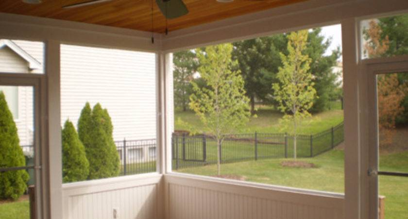 Screen Room Trim Traditional Porch Louis