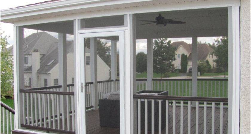 Screened Deck Designs Porch Can